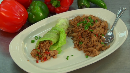 The Tasty Table - Healthy Lettuce Wraps