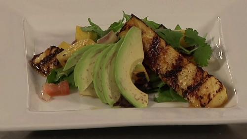 Tasty Table: February - Grilled Pineapple, Mango & Avocado Salad