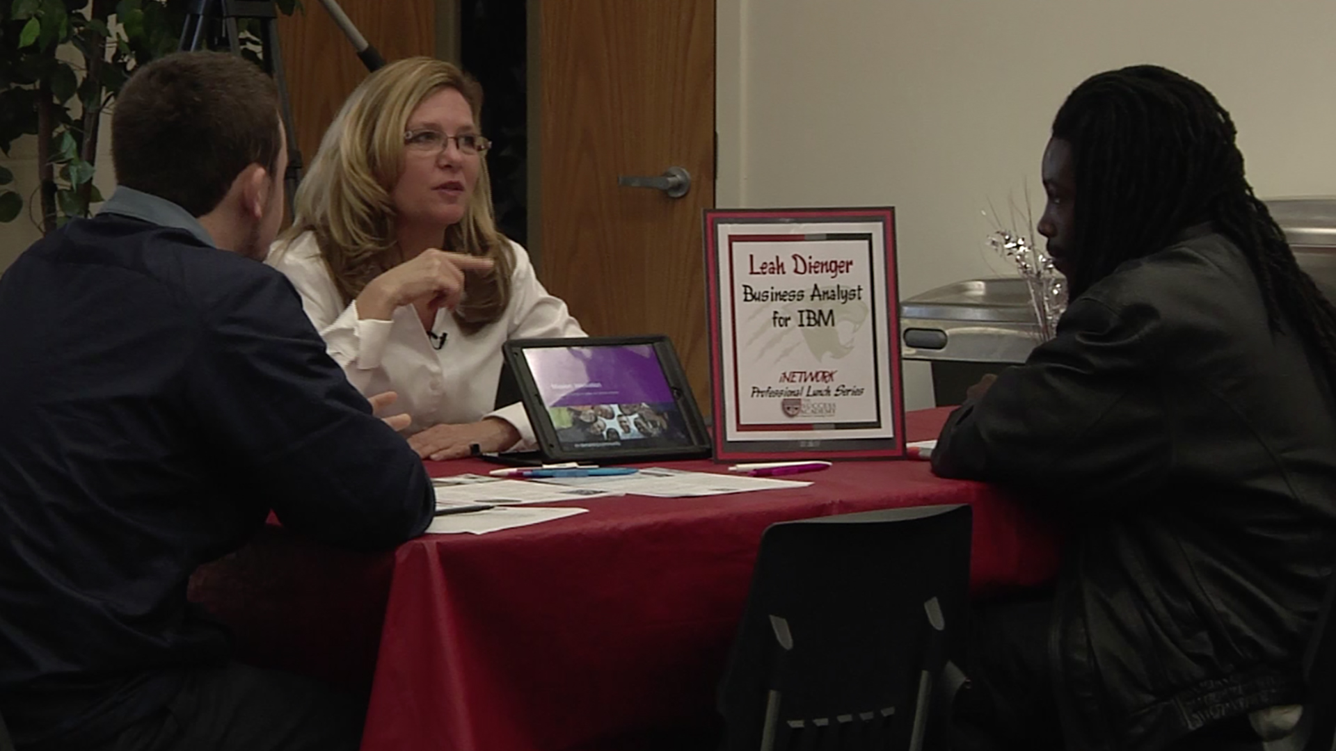 Success Academy Students Discover Career Paths through Professional Luncheons
