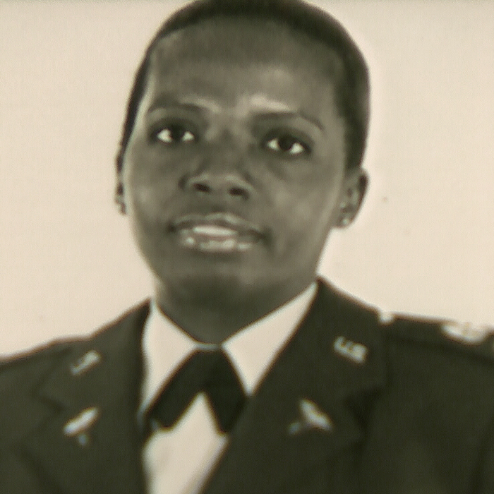 Christine Cloud Bethea's army photo