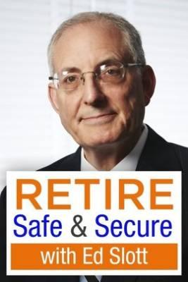 Ed Slott with Retire Safe & Secure logo