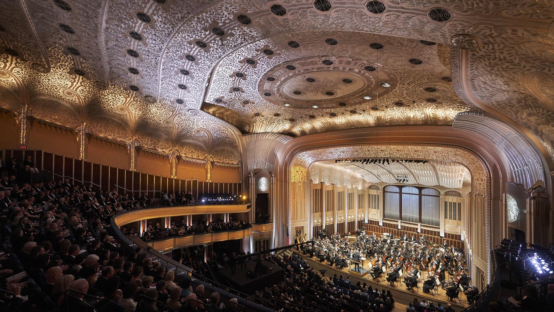 Cleveland Orchestra concert hall