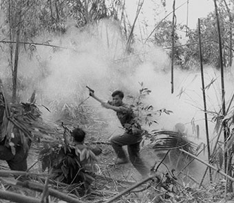 Enemy body counts and American casualties mount as GIs chase an elusive foe and face deadly ambushes and artillery. While Hanoi lays plans for a massive surprise offensive, the Johnson Administration reassures the public that victory is in sight.