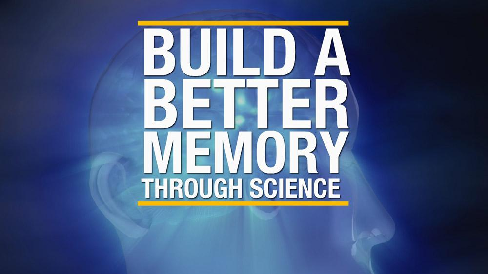 title card - build a better memory through science