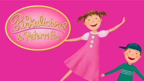 Pinkalicious & Peterrific Logo
